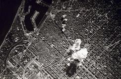 Bombing in Barcelona, 1938