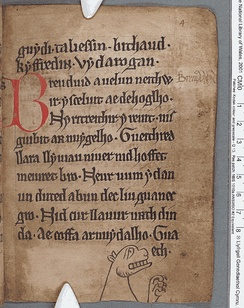 Welsh poetry from the 13th-century Black Book of Carmarthen