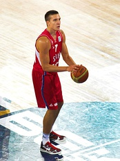 Bogdan Bogdanović was selected 27th overall by the Phoenix Suns.