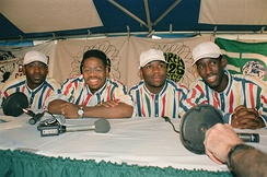 The group in 1995