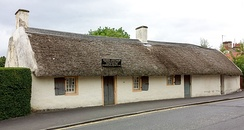 The Burns Cottage in Alloway, Ayrshire