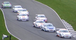 Porsche Carrera Cup GB Race at Donington Park