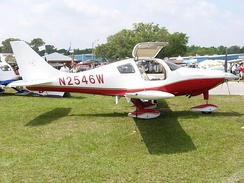 Columbia-designed Cessna 350