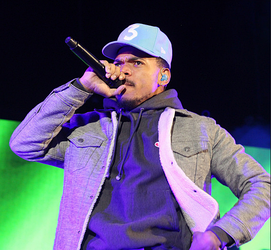 Chance the Rapper performing at a concert in May 2017.