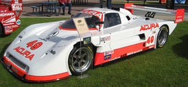 An Acura-powered Spice SE91P from the IMSA GT Championship.