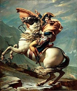 Napoleon, the most notable Italo-French personality, and Pope Francis, Argentine of Italian ancestry.[156]
