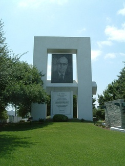 The Eugenio Garza Sada Memorial honors the institute's chief founder and promoter at the Monterrey Campus