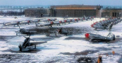 F-47Ds of the 86th Fighter Wing, Neubiberg Air Base, Germany