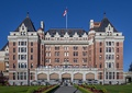 The Empress Hotel in Victoria, both of which were named for Queen Victoria