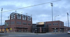 The U.S. Steel Yard, home of the Gary SouthShore RailCats