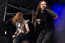 Blackened death metal band Goatwhore.