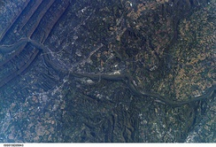 Astronaut's photograph of Harrisburg, Pennsylvania, taken from the International Space Station (ISS) in 2007