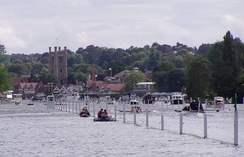 A race during the Henley Royal Regatta