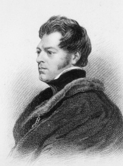 John Richardson, 1828 by Thomas Phillips, R.A., engraved by Edward Finden