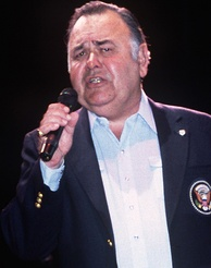 Winters performing at a USO show in 1986