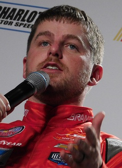 Justin Allgaier finished third in the championship.