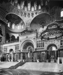 Интерьер собора. Фото 1914 года