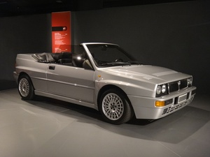 Gianni Agnelli's one-off Delta Spider Integrale on display at Museo Nazionale dell'Automobile