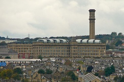 Lister Mills in 2010, from Lister Park