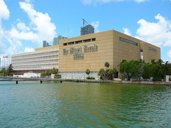Former headquarters of The Miami Herald