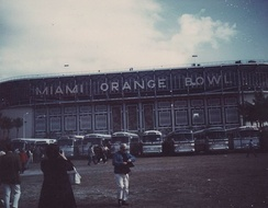 Miami Orange Bowl during Super Bowl V