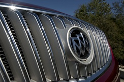 Revised Buick waterfall grille on 2nd generation LaCrosse