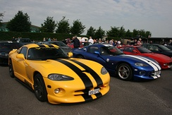 Dodge Viper GTS, which was introduced as a new model for the second generation of the Viper