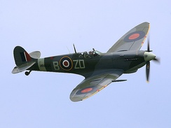 A late-war version of the Spitfire, which played a major role in the Battle of Britain.