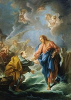 Saint Peter Attempting to Walk on Water, by François Boucher, 1766