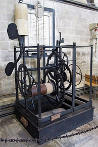 Clock from Salisbury Cathedral ca. 1386