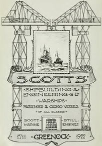 Advertisement in Brassey's Naval Annual, 1923