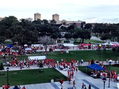 Shasta Square tailgate at TDECU Stadium