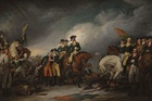 The Capture of the Hessians at Trenton, December 26, 1776 (event 1776, painted 1786–1828)