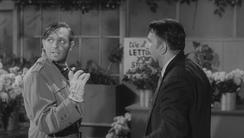 Screenwriter Charles B. Griffith in a cameo role as Kloy Haddock, a robber.