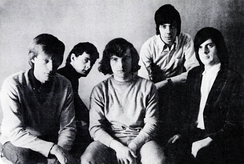 Them, featuring Van Morrison (center), in 1965