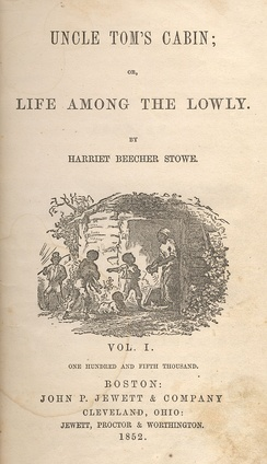 Uncle Tom's Cabin was published in 1852