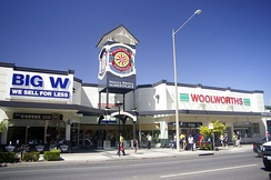 Wagga Wagga Marketplace, opened in 3 stages from October 1996 to March 1997
