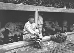 John McGraw, manager of the 1916 New York Giants, who won a record 26 games in a row
