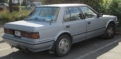 Nissan Bluebird 2.0 ZX-E (New Zealand)