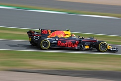 Verstappen at the 2017 British Grand Prix