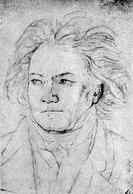 Beethoven in 1818 by August Klöber [de]