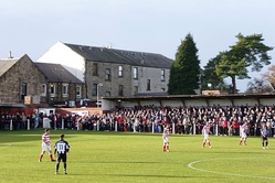 Former junior club Bonnyrigg Rose (in red) qualified to compete by winning the SJFA East Superleague in 2012.