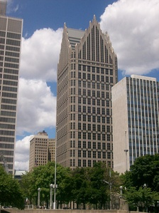 One Detroit Center in Detroit, Michigan (1991–1993)