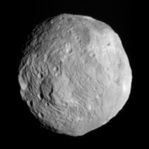 Asteroid 4 Vesta, imaged by the Dawn spacecraft (2011)