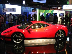 Promotion of Forza Motorsport 4 at E3 2011