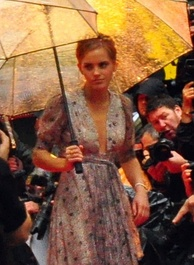 Watson at the premiere of Half-Blood Prince in July 2009