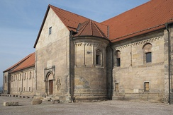 The now secularised St Peter's Church at Petersberg Citadel, Erfurt, where Henry the Lion submitted to Barbarossa in 1181