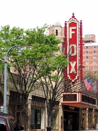 The Fox Theatre is a performing arts venue located in Midtown Atlanta, and is the centerpiece of the Fox Theatre Historic District.