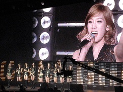 Girls' Generation SNSD at SM Town Live NY in 2011
