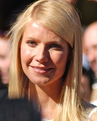 Paltrow at a ceremony for receiving her Hollywood Walk of Fame star in December 2010